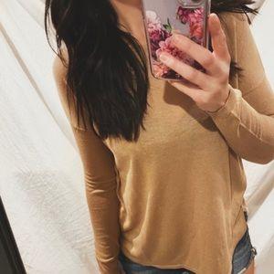 cozy minimal long sleeve